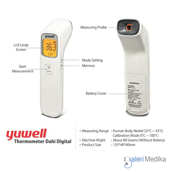 Yuwell YHW - 1 Infrared Thermometer Non-contact