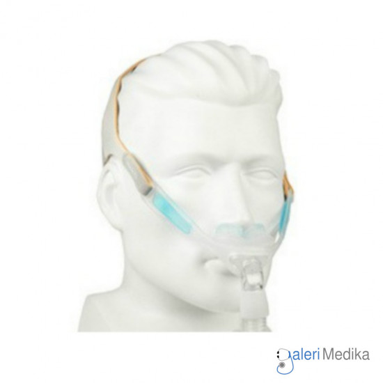 Nuance Pro CPAP Mask / Nasal Pillow Mask with Gel Pad