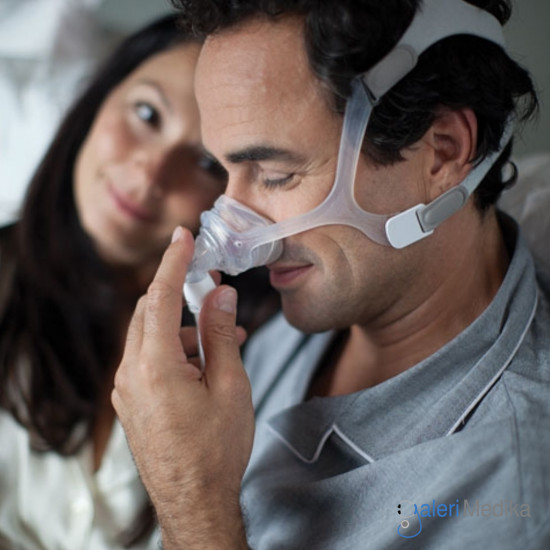 Philips WISP Nasal Mask with CLEAR Frame - Masker CPAP/BiPAP