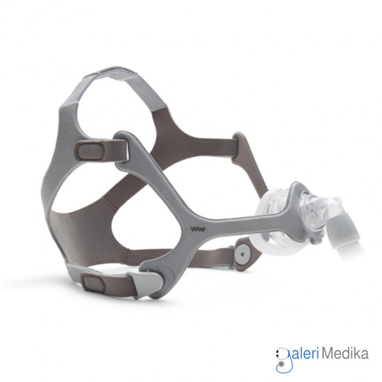 Philips WISP Nasal Mask with FABRIC Frame - Masker CPAP/BiPAP