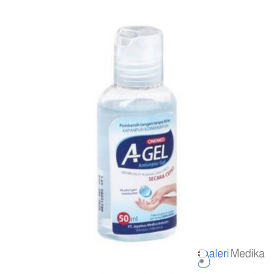 Hand Sanitizer A Gel Onemed Aseptic Gel 50 ml