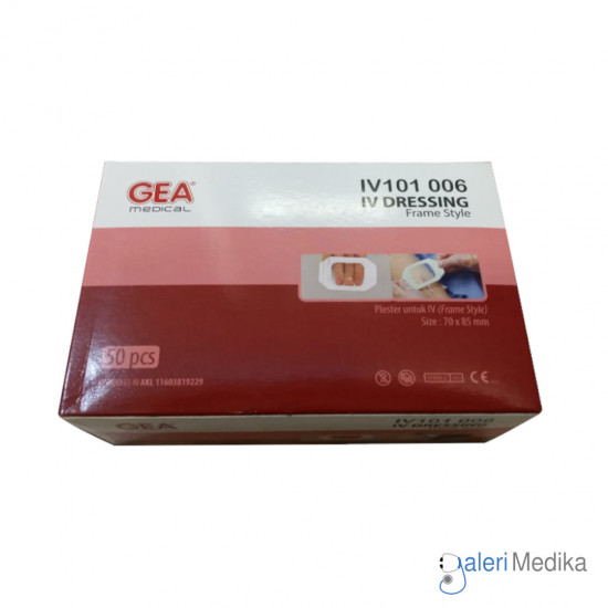 GEA IV Dressing Plester Pasca Operasi 70x85 mm - Frame Style