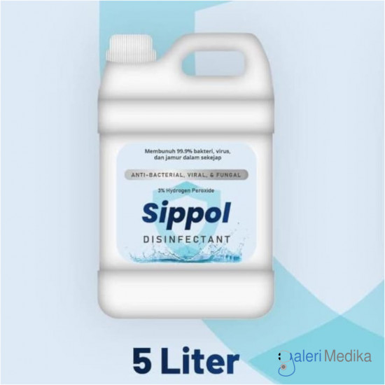 Sippol Disinfectant Cair 5 liter
