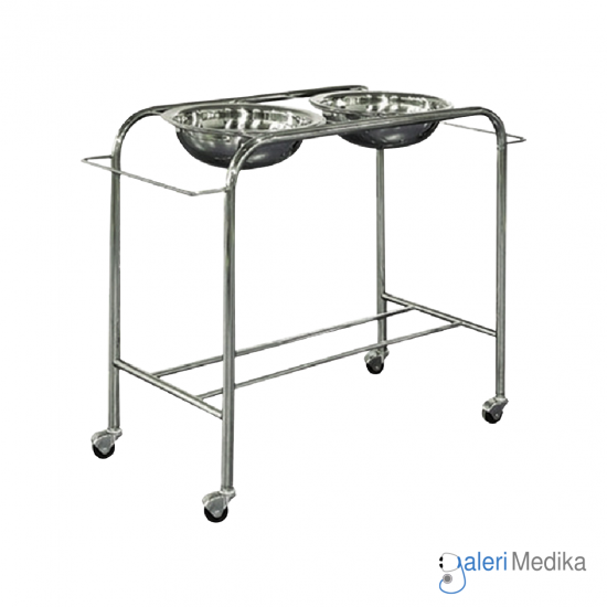 Stand Waskom / Double Bowl Stand – Medipro MED-BS022
