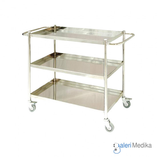 Food Trolley / Troli Makan 3 Susun - Medipro MED-FT210S