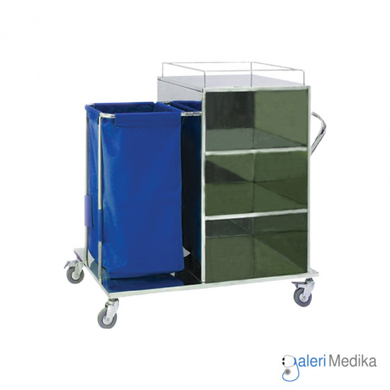 Linen Hamper Carriage - Medipro MED-LH260S
