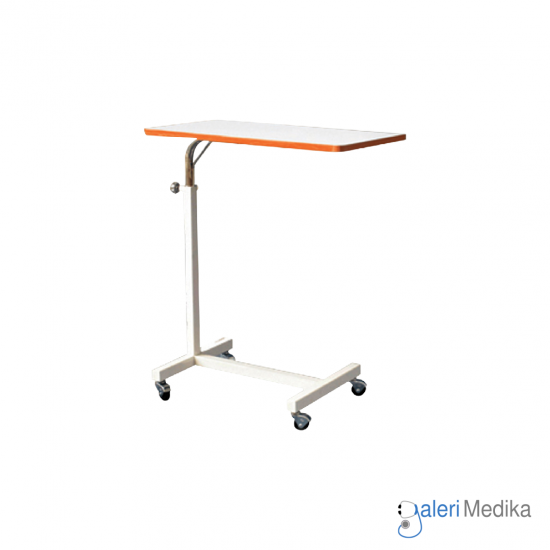 Medipro Overbed Table Plywood - Meja Makan Portable