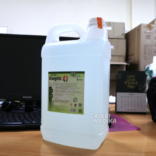 Onemed Aseptic Plus 5 Liter - Hand Sanitizer Cair
