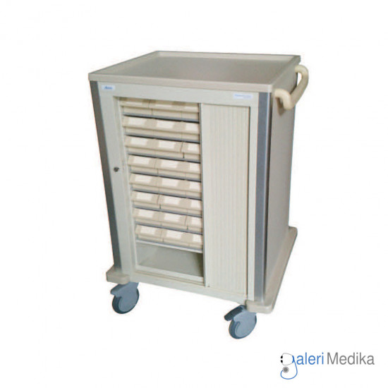 Troli Obat - Medication Trolley Acare NC 064C