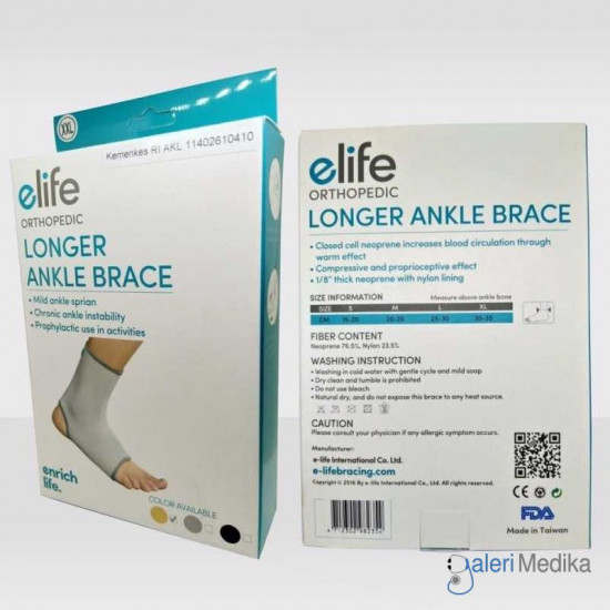 Elife E-AN003 Longer Ankle Brace