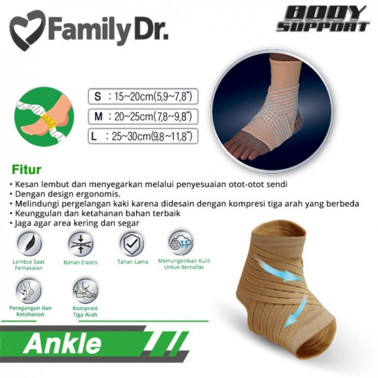 Family Dr Ankle Support - Penyangga Kaki