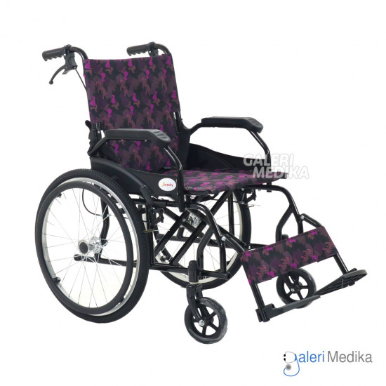 Kursi Roda Serenity SR-862 Steel Wheelchair