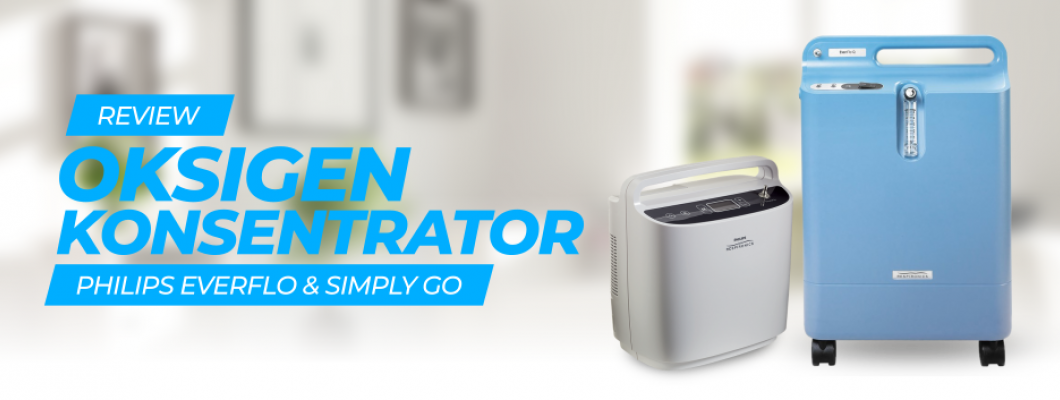 Review Oxygen Concentrator: Philips Respironics Home Oxygen Therapy