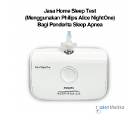 Jasa Home Sleep Test (Menggunakan Philips Alice NightOne) Bagi Penderita Sleep Apnea