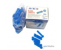 Blood Lancets Avico - Jarum Lancet Isi 100 pcs