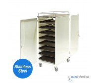 Food Trolley / Troli Makan 16 Nampan - Medipro MED-FT215S