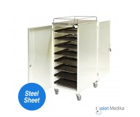 Food Trolley / Troli Makan 16 Nampan - Medipro MED-FT215A